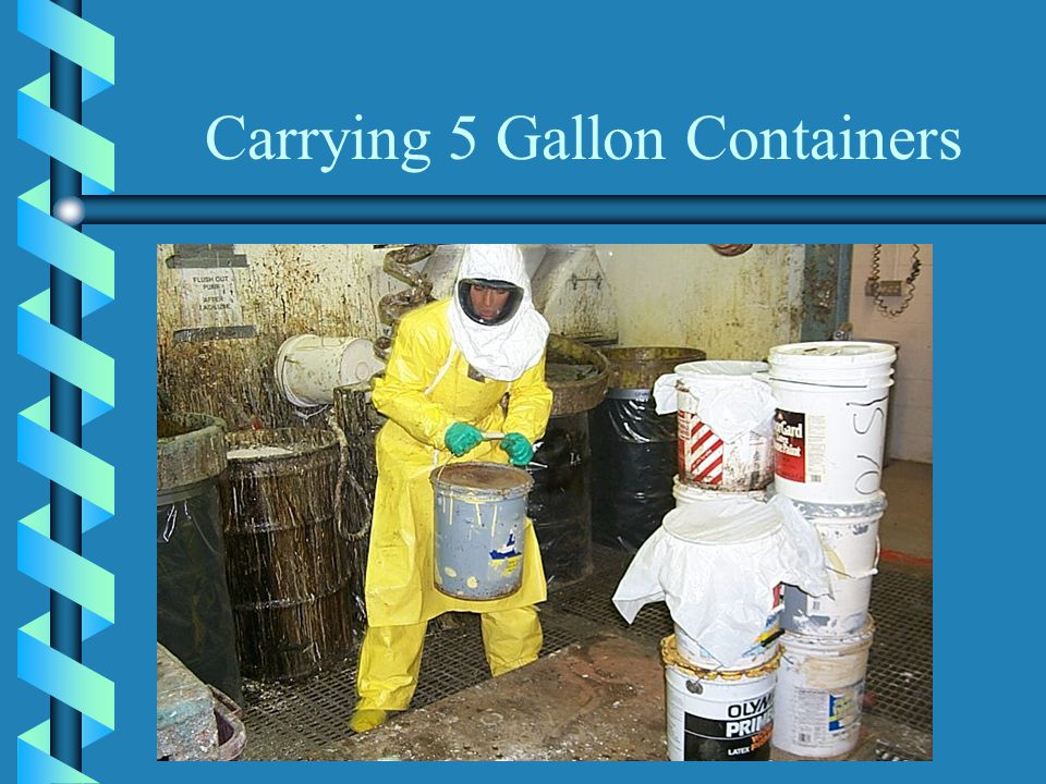 Carrying 5 Gallon Containers