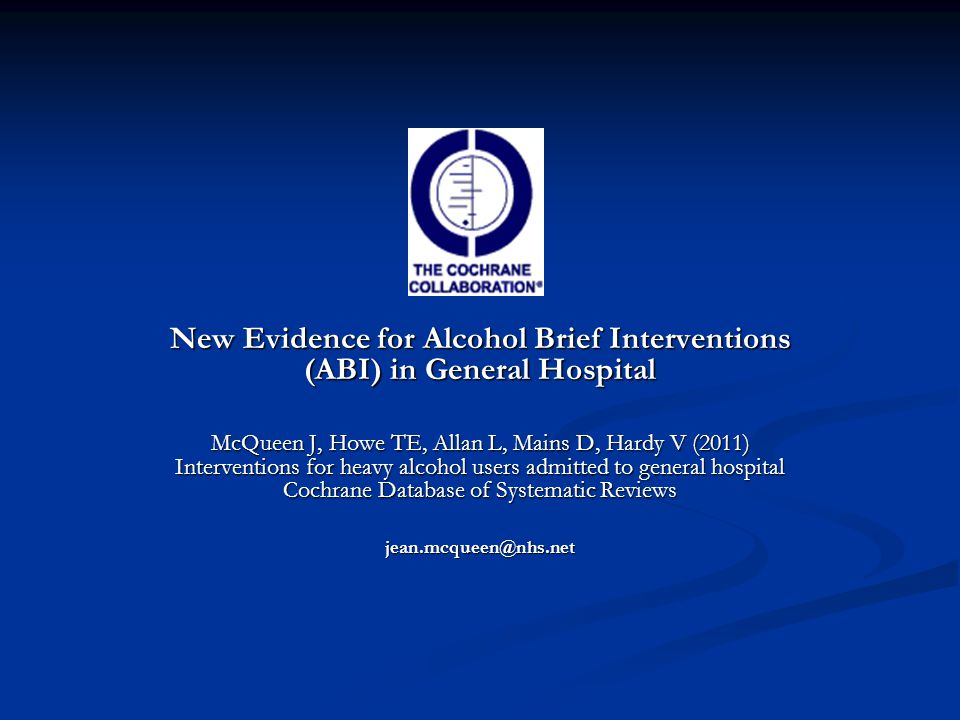 1.4 Self Reports of Alcohol Consumption