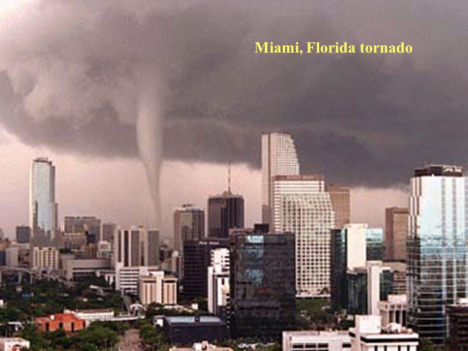 Miami, Florida tornado