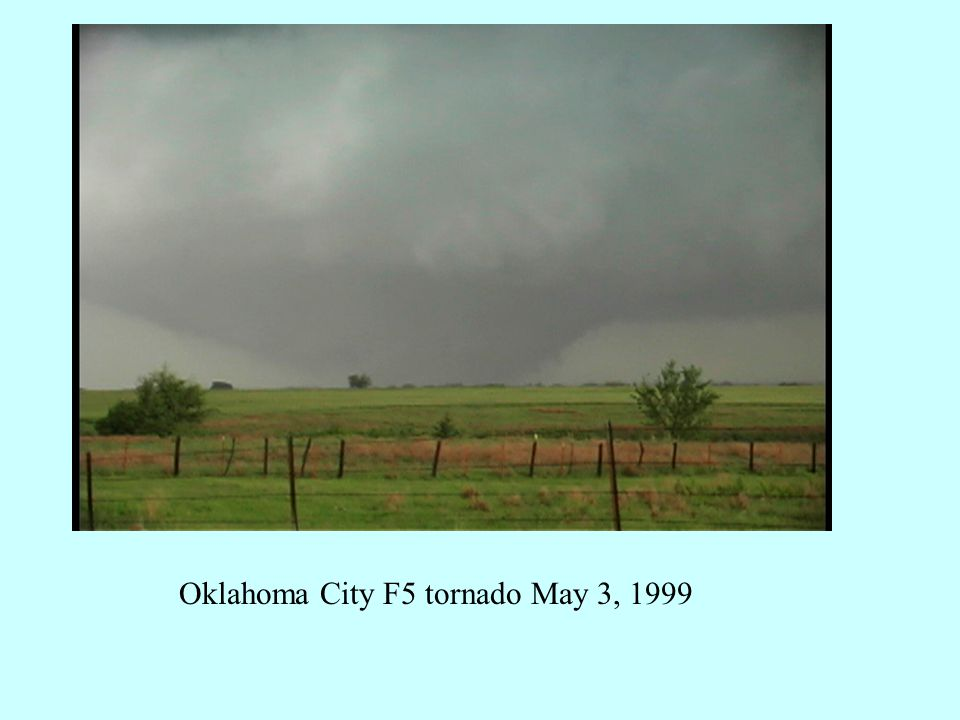Oklahoma City F5 tornado May 3, 1999