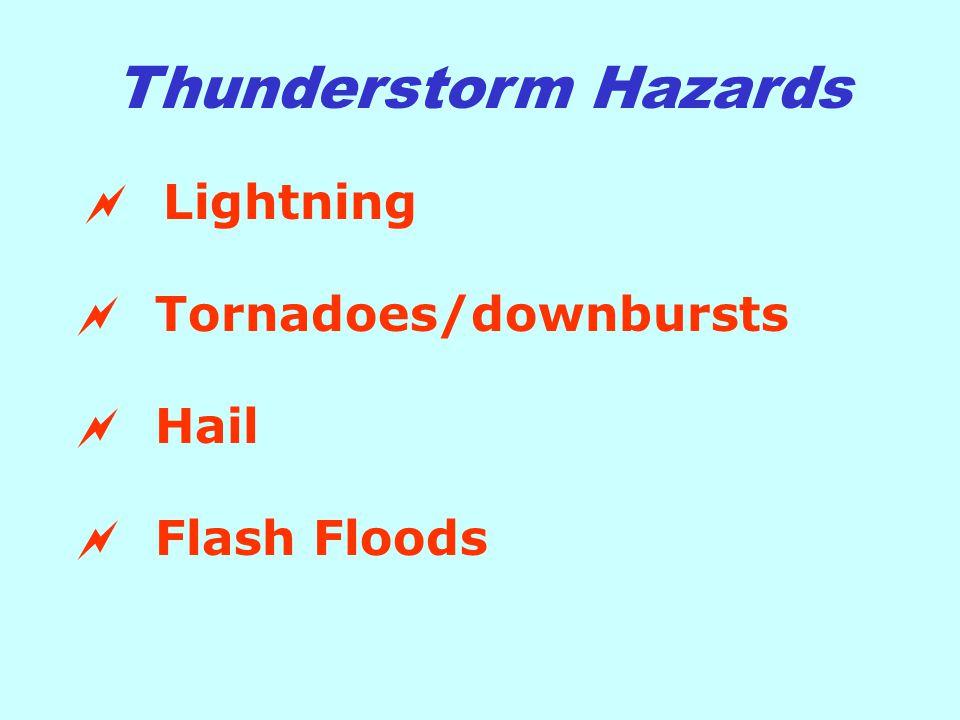Every year 100-200 people die from lightning strikes