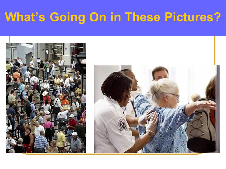 What is the Difference between… ScreeningAssessment What's Going On in These Pictures?