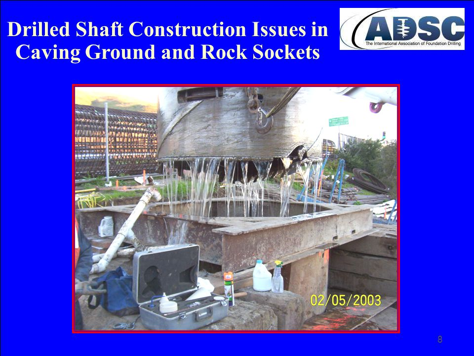 49 It benefits all members involved in the design and construction of these specialty deep foundations to become familiar with these new types of equipment.