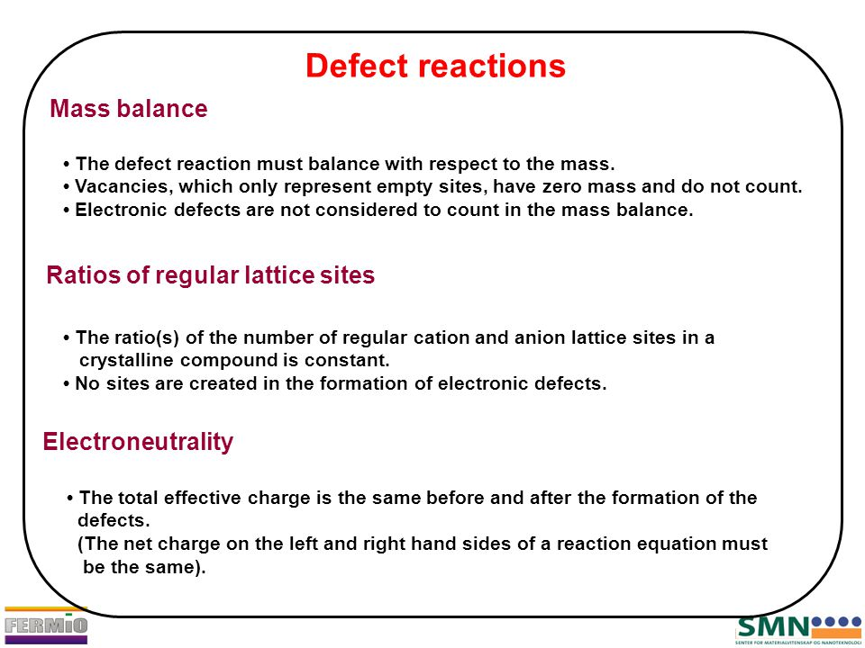 The total effective charge is the same before and after the formation of the defects.