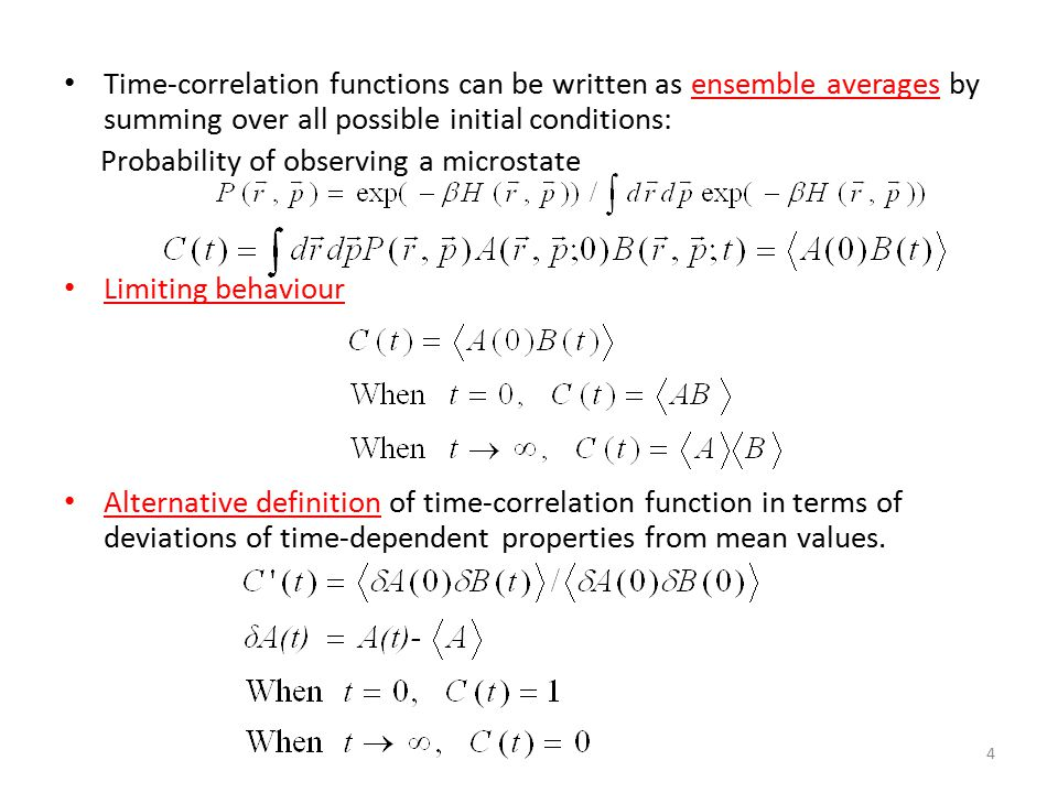 15 Transport Properties Flux=-transport coefficient X gradient Non-equilibrium MD: create a perturbation and watch the time-dependent response Equilibrium MD: measure the time-correlation function FluxGradientLinear Laws DiffusivityMassConcentrationFick's Law of Diffusion Ionic Conductivity ChargeElectric potentialOhm's Law ViscosityMomentumVelocityNewton's Law of Viscosity Thermal Conductivity EnergyTemperatureFourier's Law of Heat Conduction