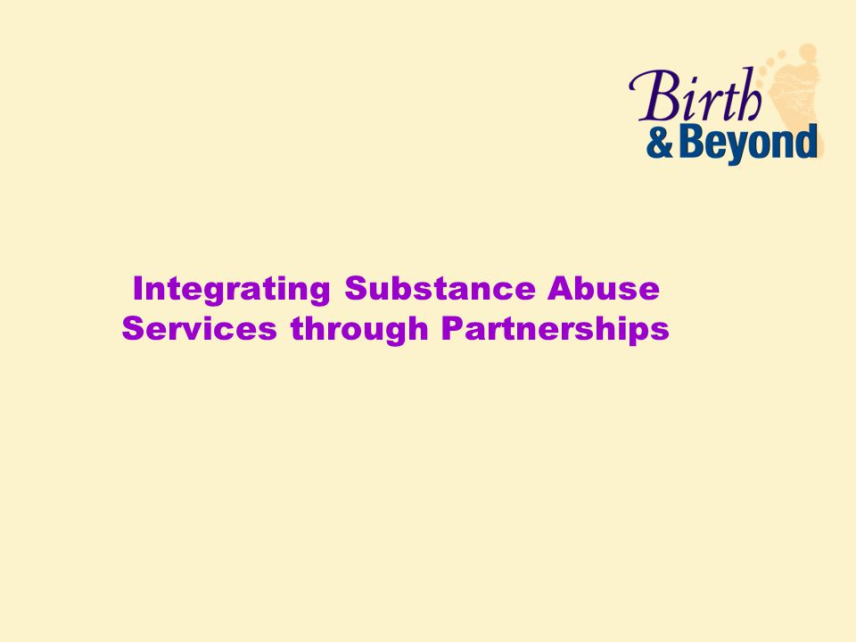 Integrating Substance Abuse Services through Partnerships