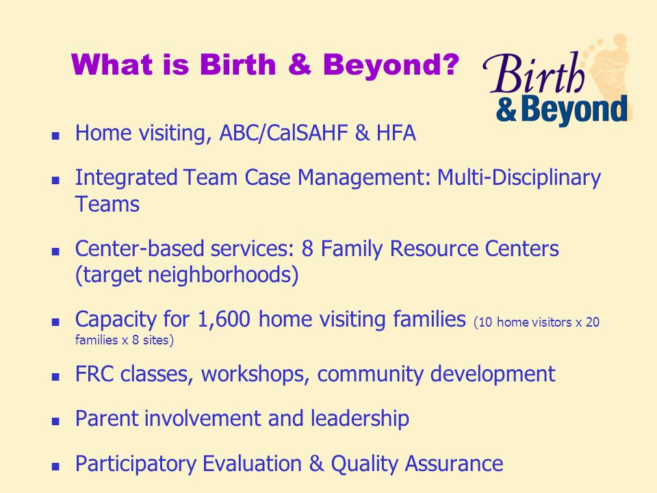 What is Birth & Beyond.