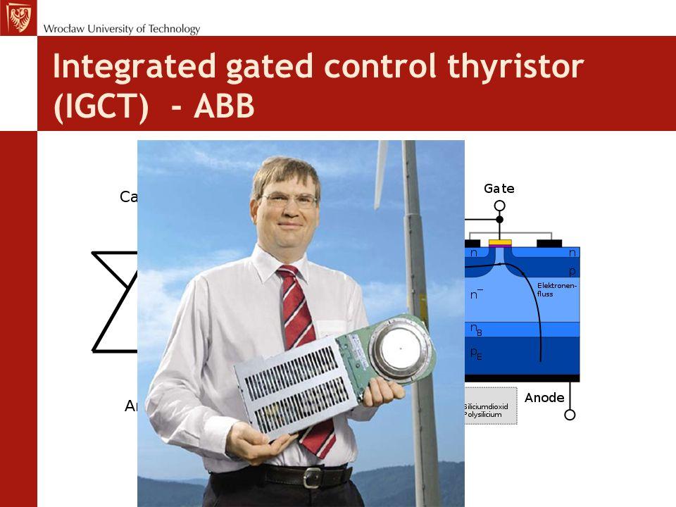 Integrated gated control thyristor (IGCT) - ABB