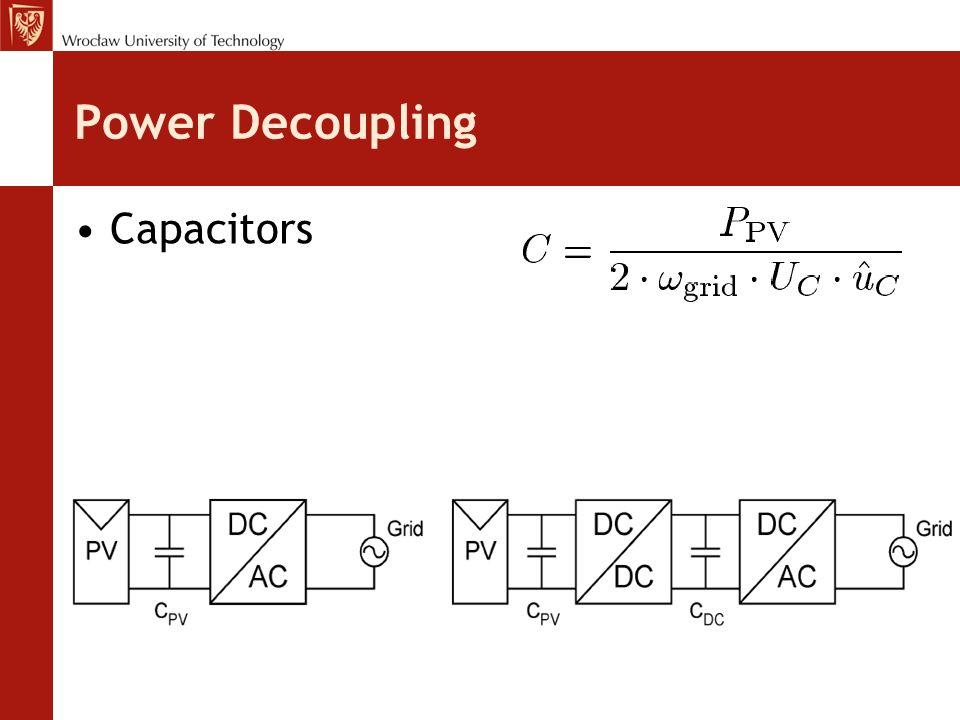 Power Decoupling Capacitors