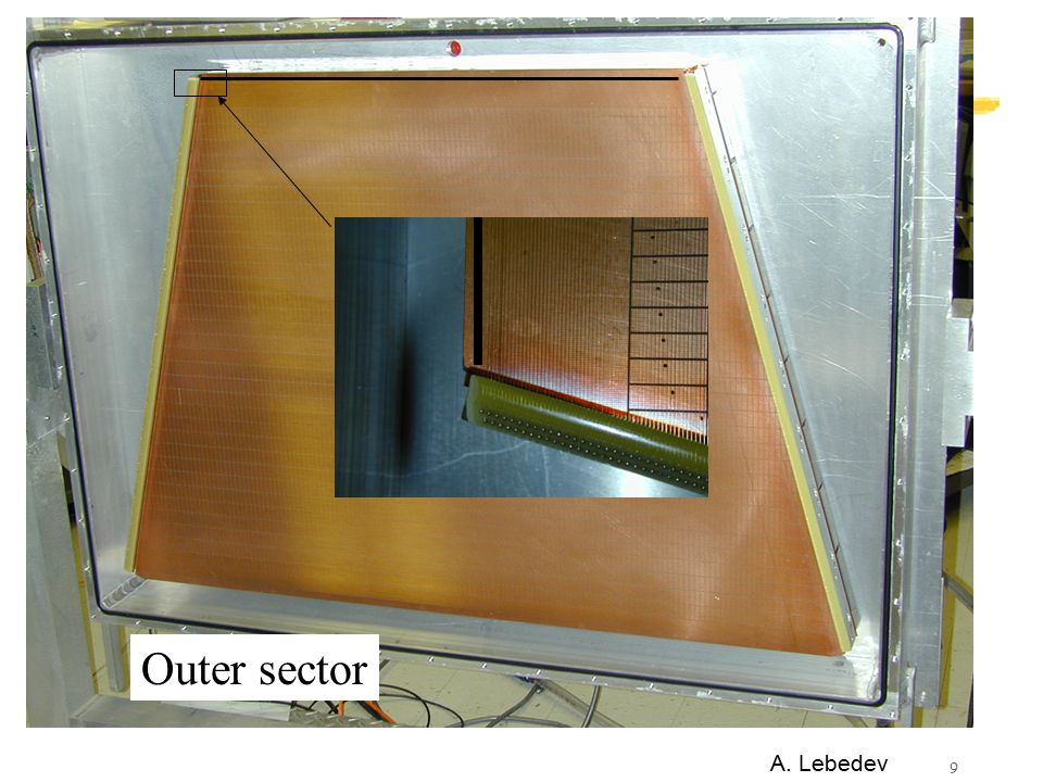 9 Outer sector A. Lebedev