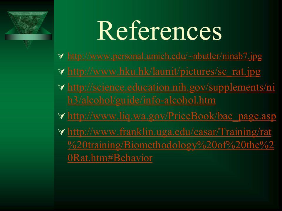 References  http://www. personal.umich.edu/~nbutler/ninab7.jpg http://www.