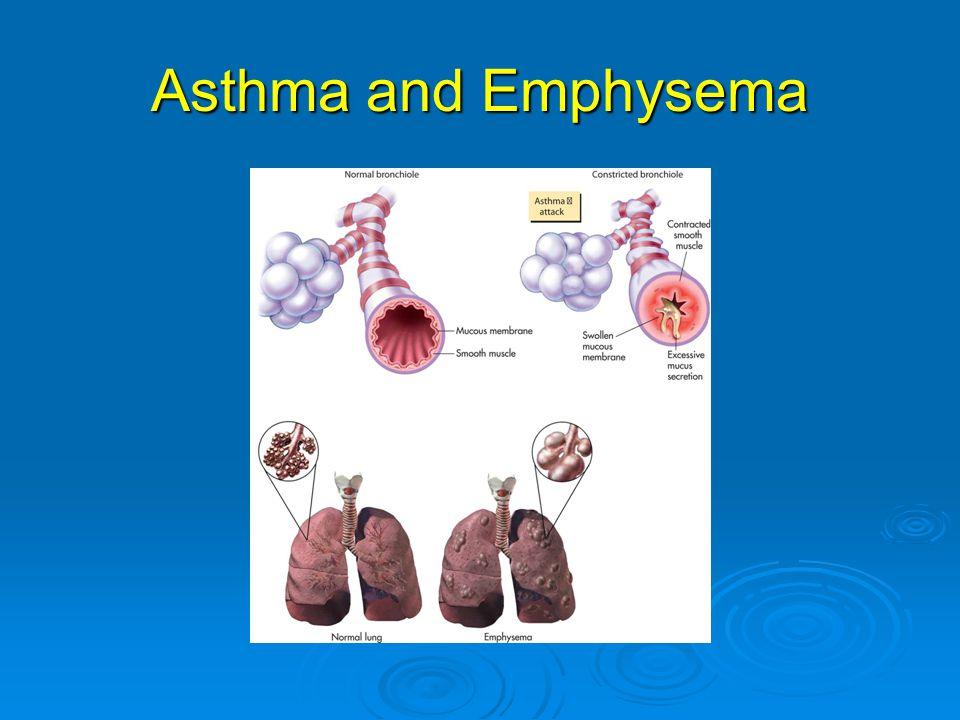 Asthma and Emphysema