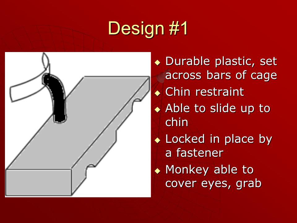 Velcro Design  Components: 1. Headrest 1. Headrest 2. Two Velcro Stripes 2. Two Velcro Stripes