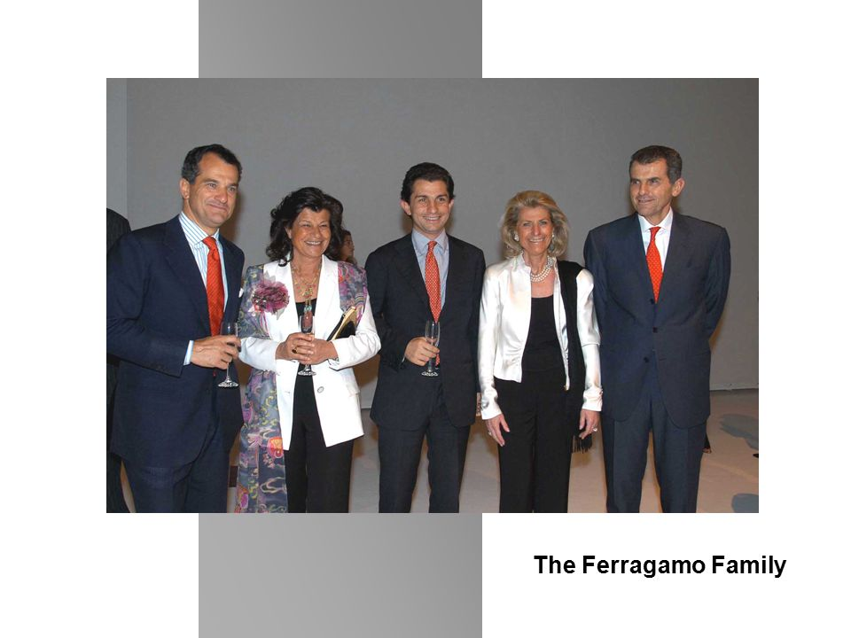 The Ferragamo Family
