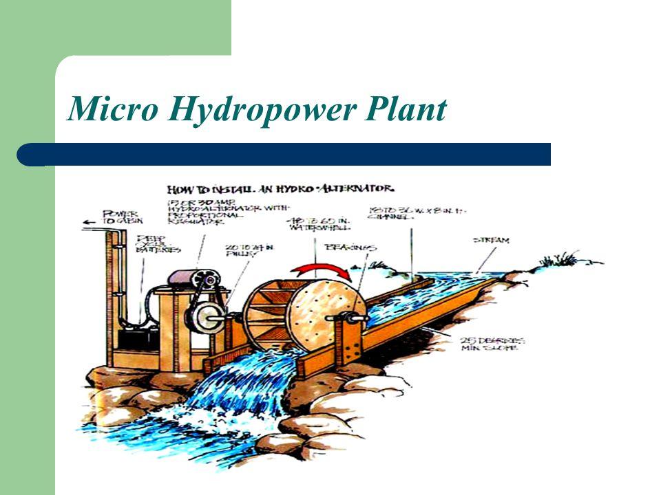 Micro Hydropower Plant