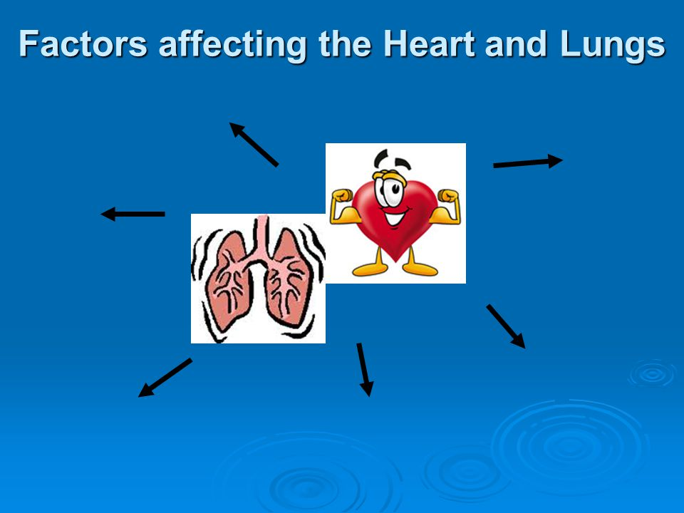 Factors affecting the Heart and Lungs