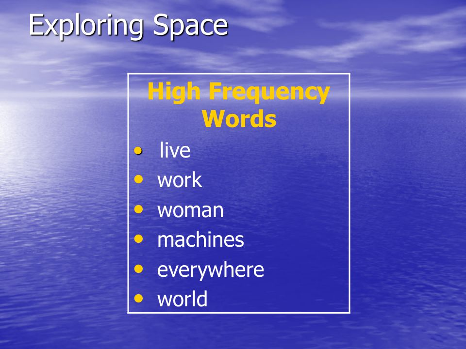 Today we will learn about: new amazing words, new amazing words, long vowels CVCe, long vowels CVCe, main ideas and details, main ideas and details, high-frequency words, high-frequency words, vocabulary words, and vocabulary words, and subjects subjects