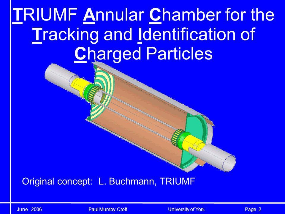 June 2006 Paul Mumby-Croft University of Yor k 13Page The cathode cage