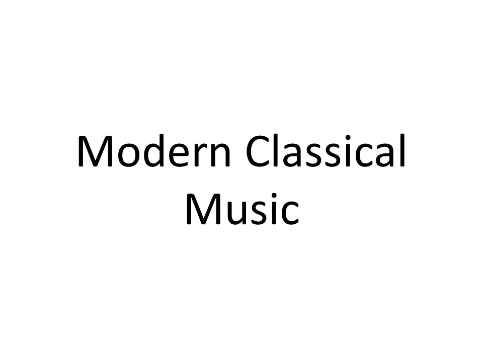Modern Classical Review What do you know.