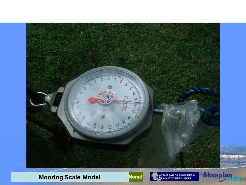 AquaPark Mid-term meeting - interim results Mooring Scale Model