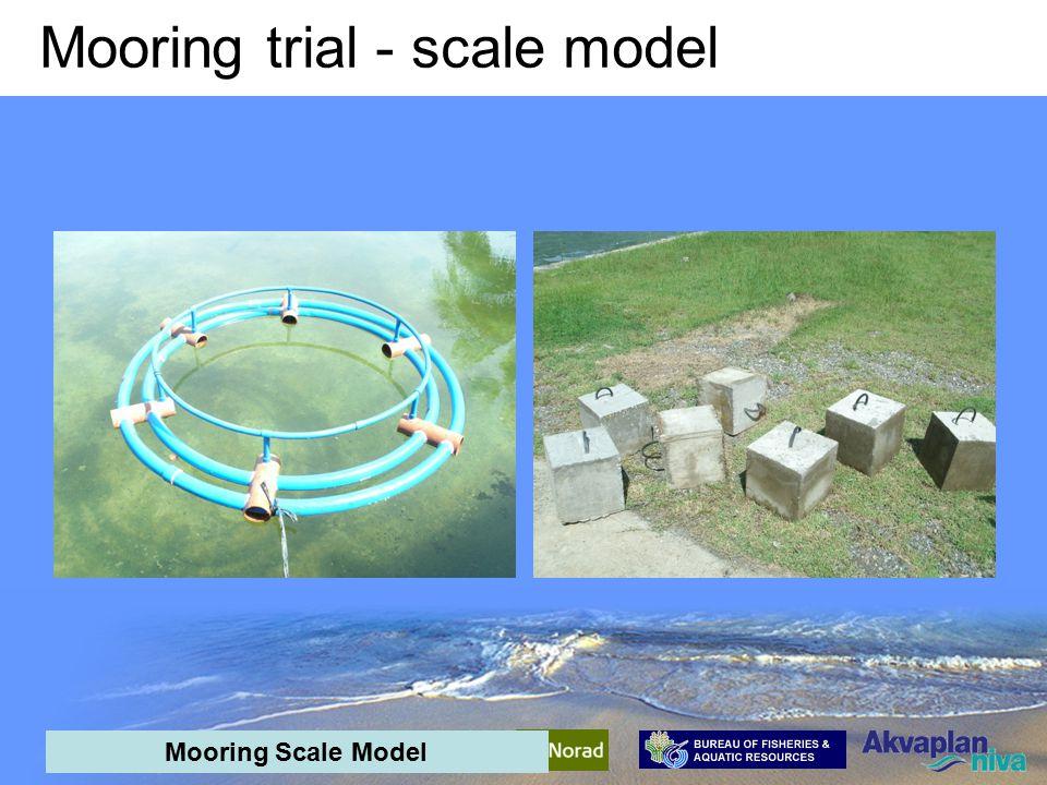 AquaPark Mid-term meeting - interim results Mooring trial - scale model 1.2 m 1.5 m 1.5 – 2.0 m Mooring Scale Model