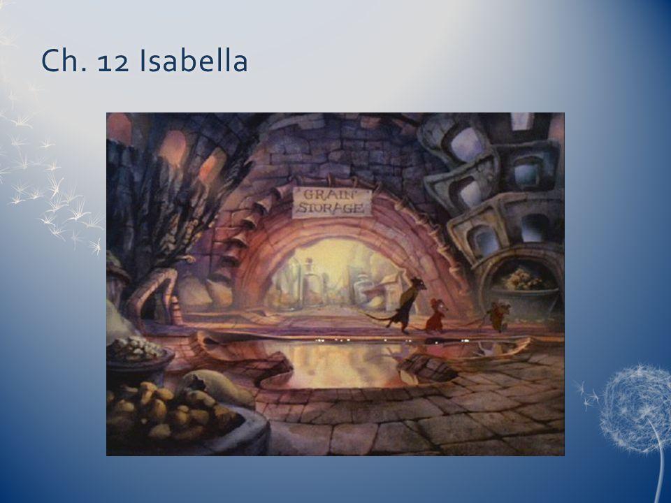 Ch. 12 IsabellaCh. 12 Isabella