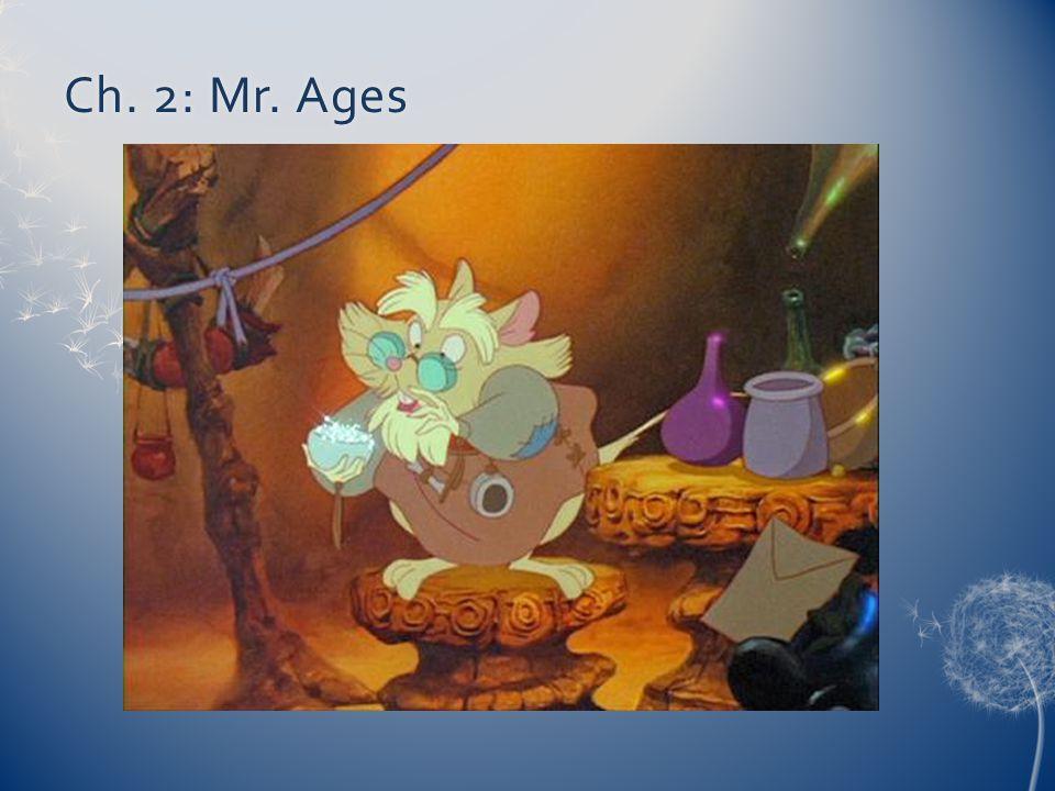 Ch. 2: Mr. AgesCh. 2: Mr. Ages