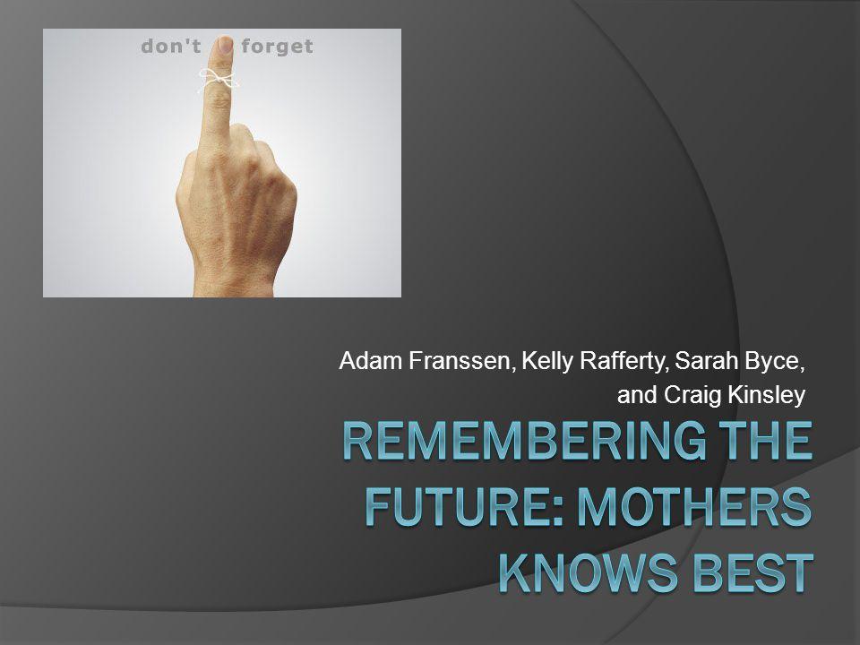 Adam Franssen, Kelly Rafferty, Sarah Byce, and Craig Kinsley