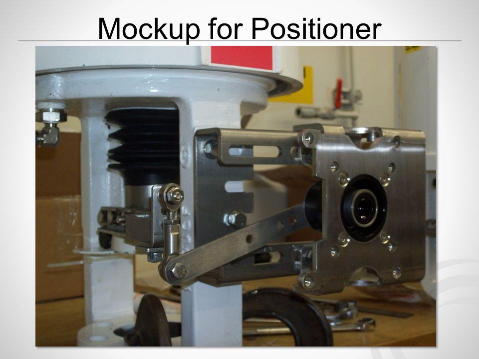 Mockup for Positioner (Mounting Kit)