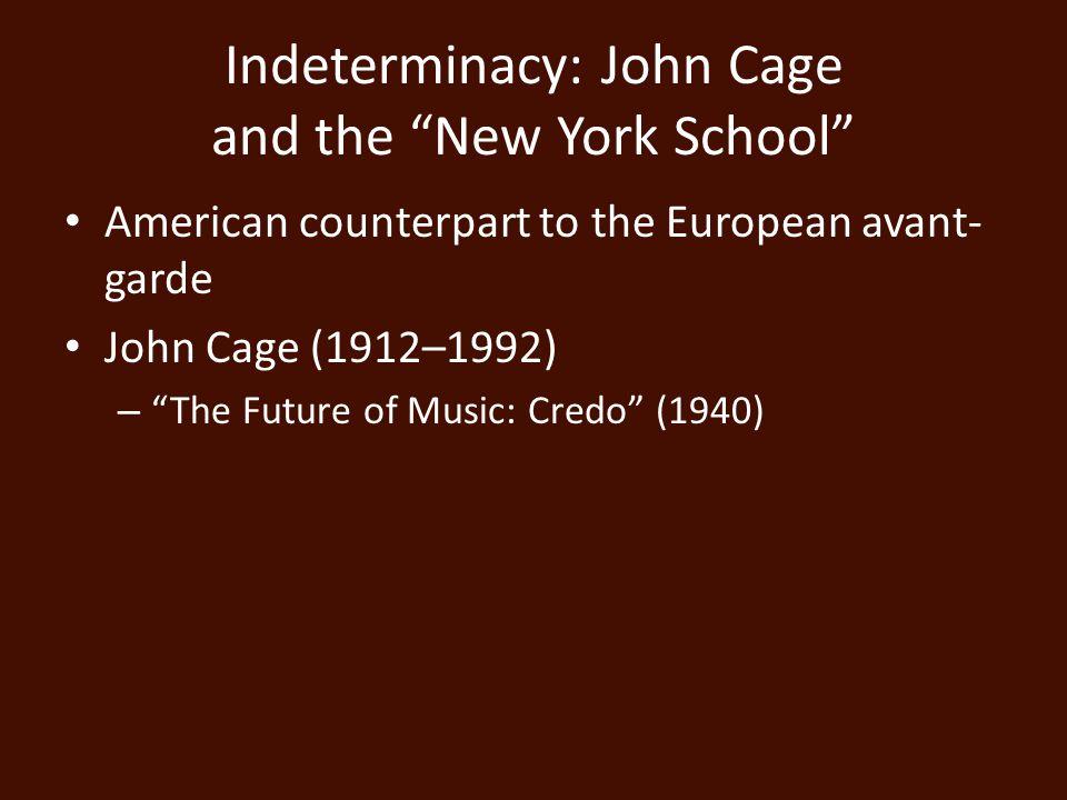 Musique Concrète versus Elektronische Music Use of both – Stockhausen Gesang der Jünglinge (1956) Hymnen (1967)