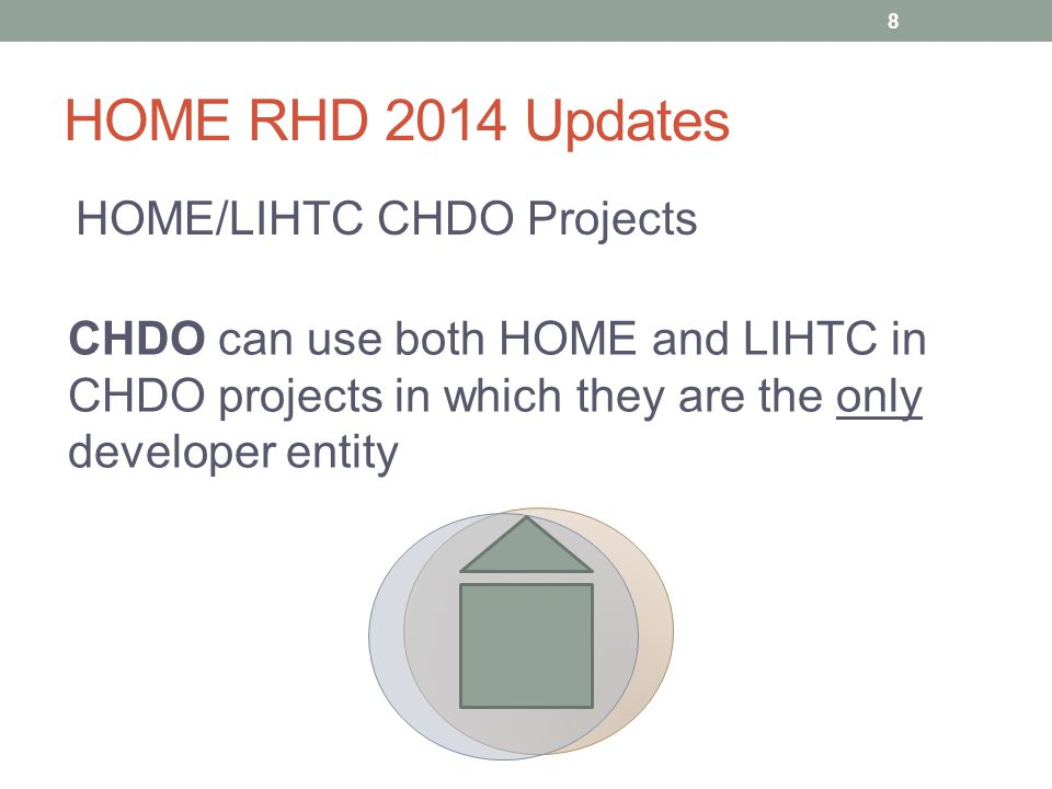 HOME RHD 2014 Updates Students in HOME units HUD has clarified rules regarding students in HOME units.