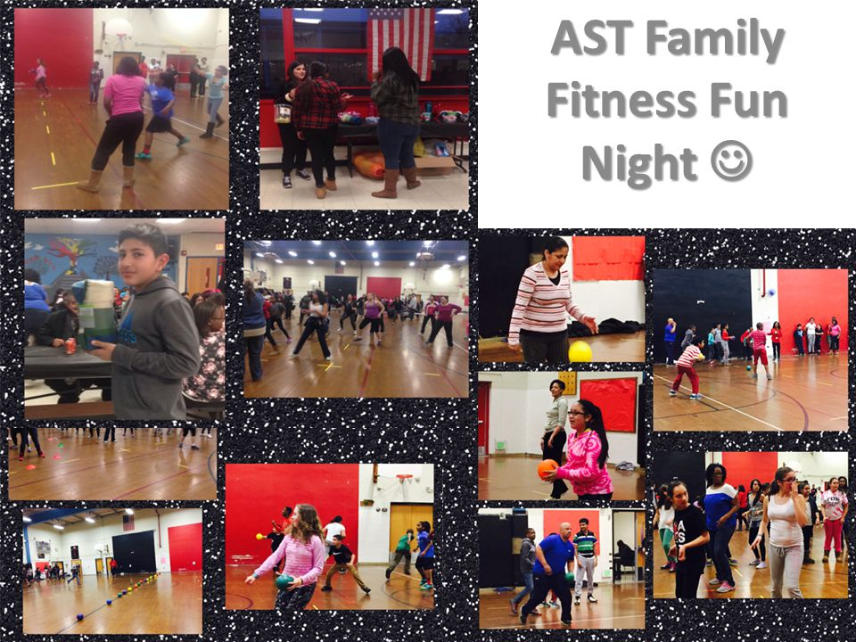 AST Family Fitness Fun Night AST Family Fitness Fun Night