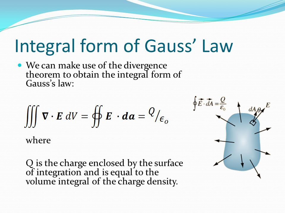 Flux Density We define the electric flux density as Then, the electric flux is given by