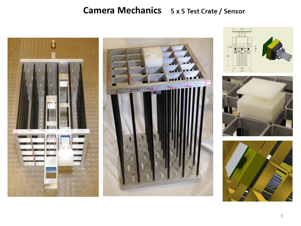 Camera Mechanics 5 x 5 Test Crate / Sensor 6