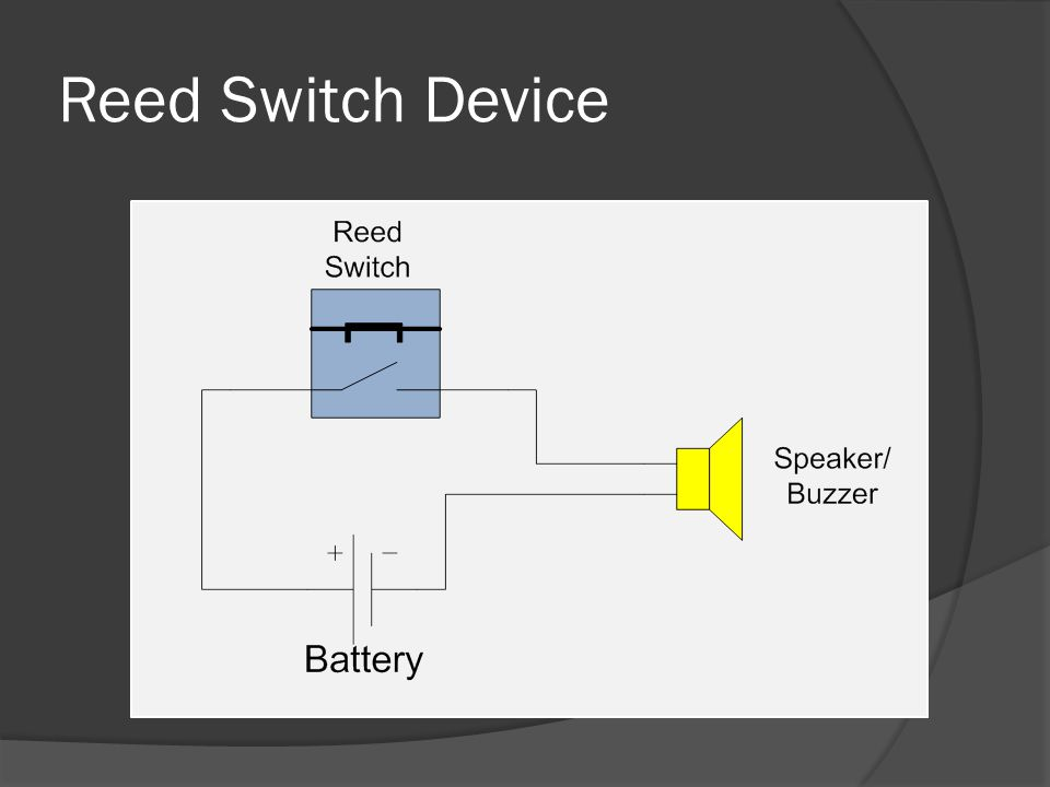 Reed Switch Device