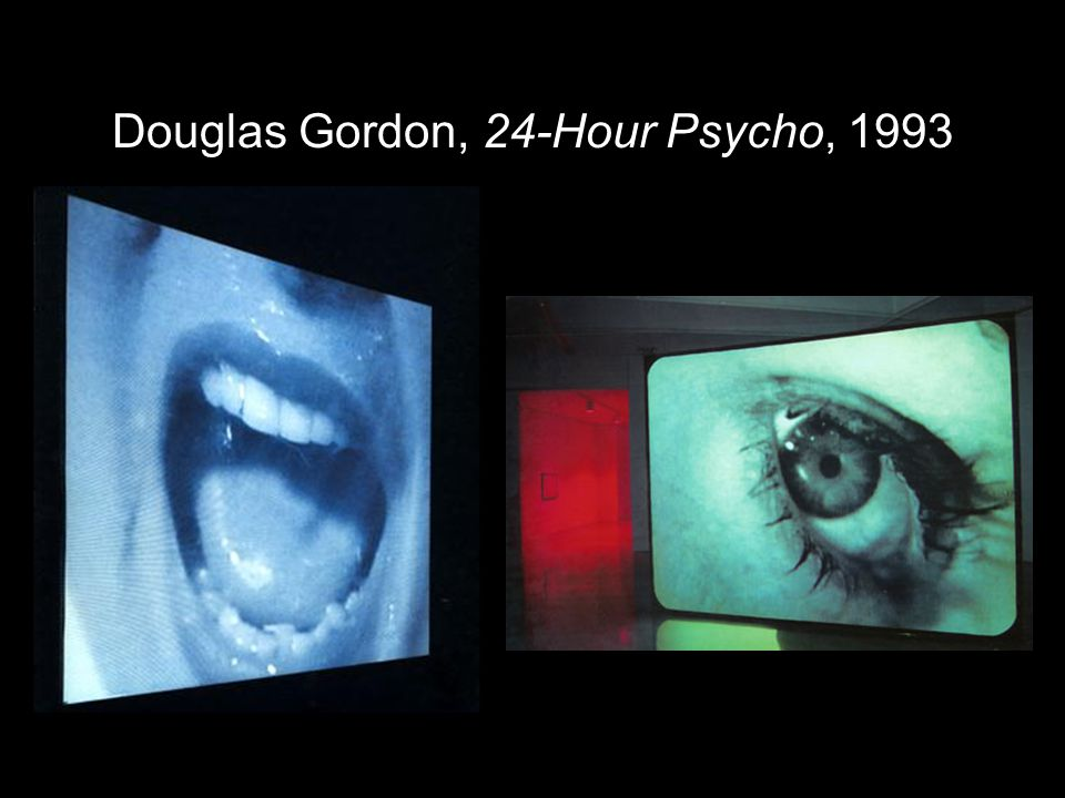 Douglas Gordon, 24 hour psycho back and forth and to and fro, 2008