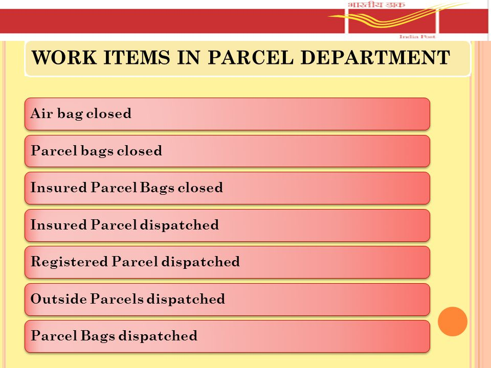 JUSTIFICATION OF OPERATIVE STAFF IN MAIL OFFICE For seven hour or more operative work – one S.A.