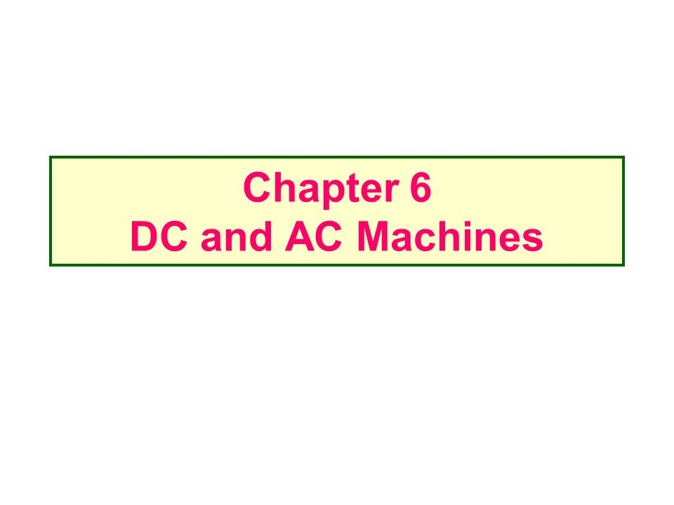 Power flow and losses in DC machines DC generators take in mechanical power and produce electric power while DC motors take in electric power and produce mechanical power Efficiency
