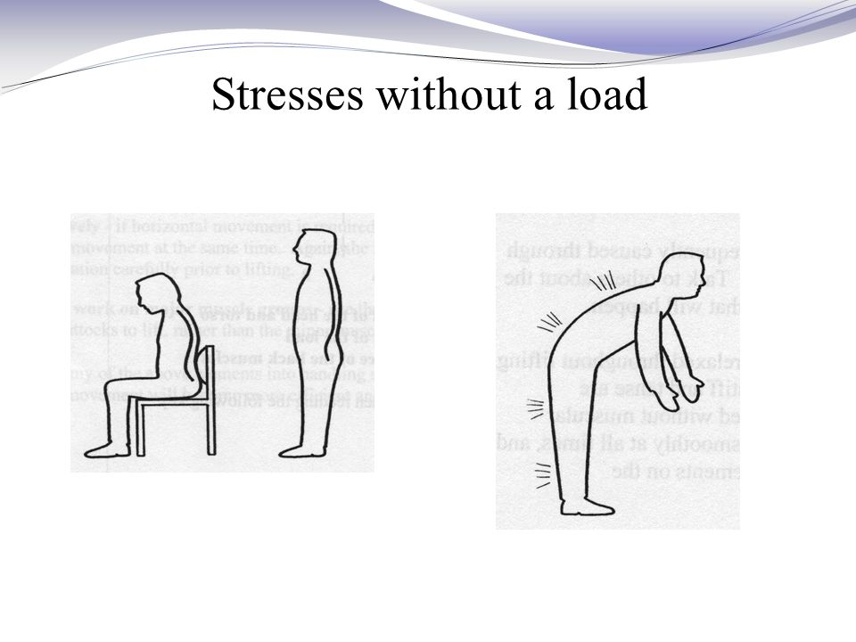 Stresses without a load