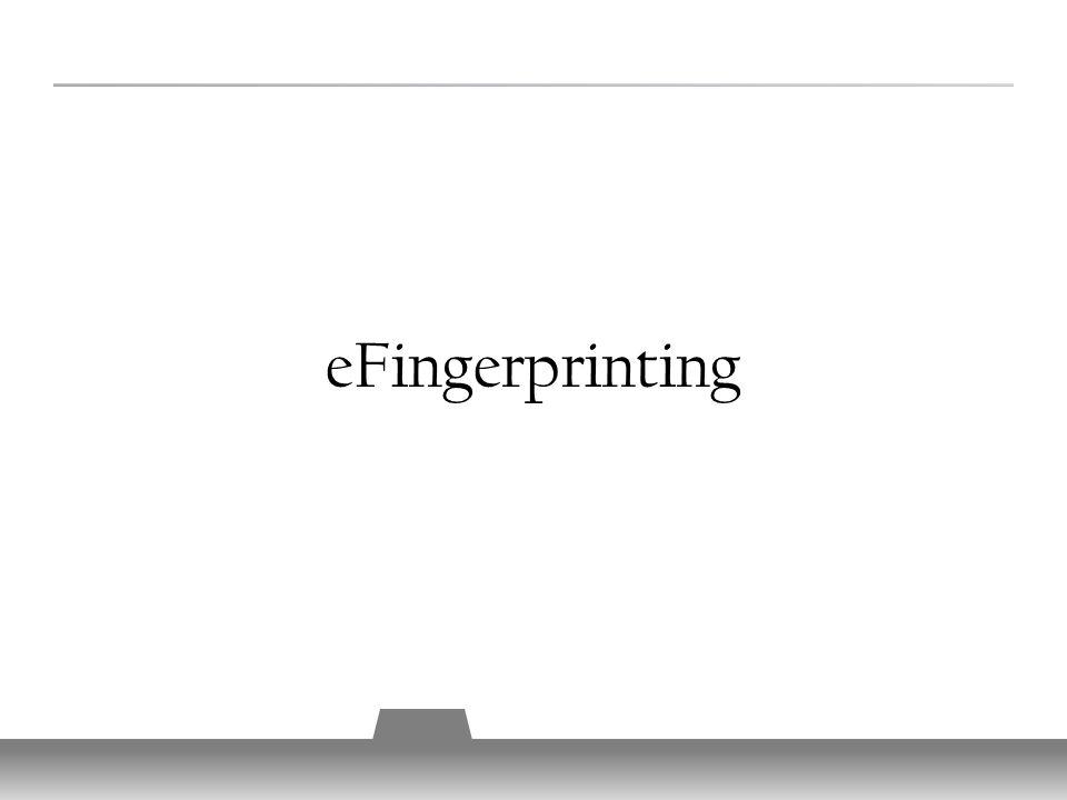 eFingerprinting 11