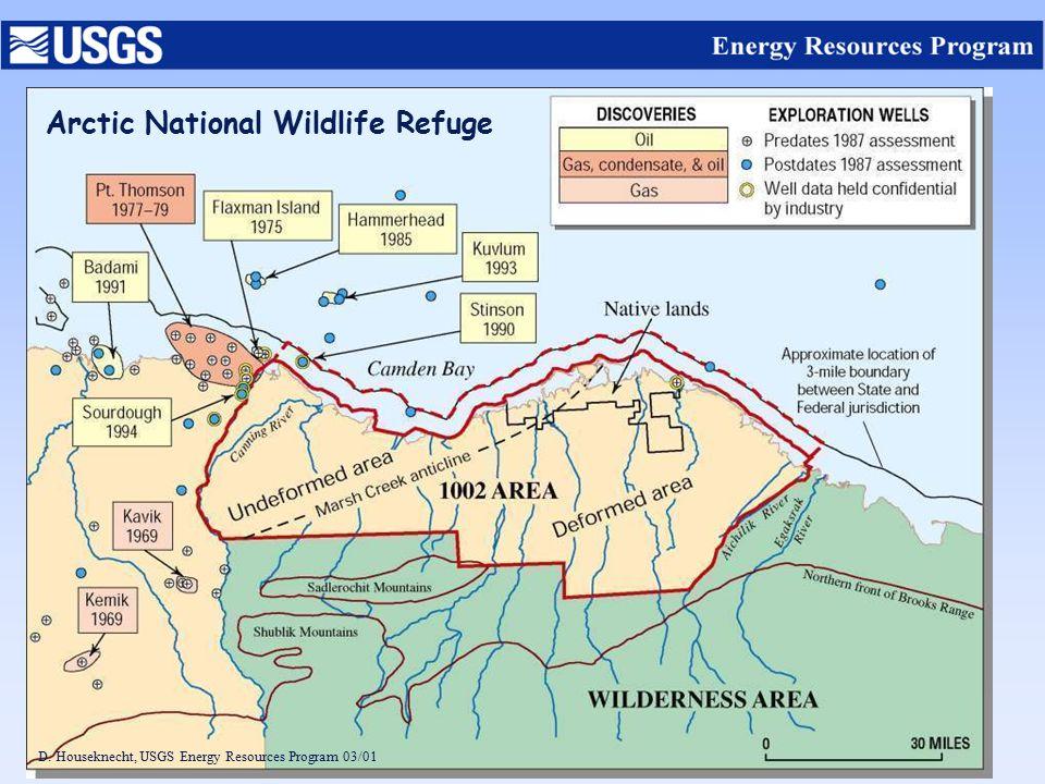 D. Houseknecht, USGS Energy Resources Program 03/01 Arctic National Wildlife Refuge