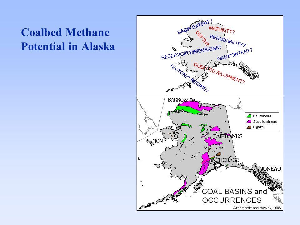 Coalbed Methane Potential in Alaska