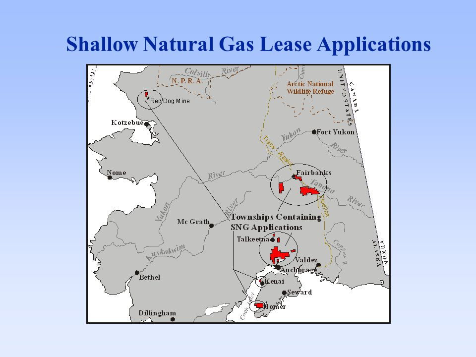 Shallow Natural Gas Lease Applications