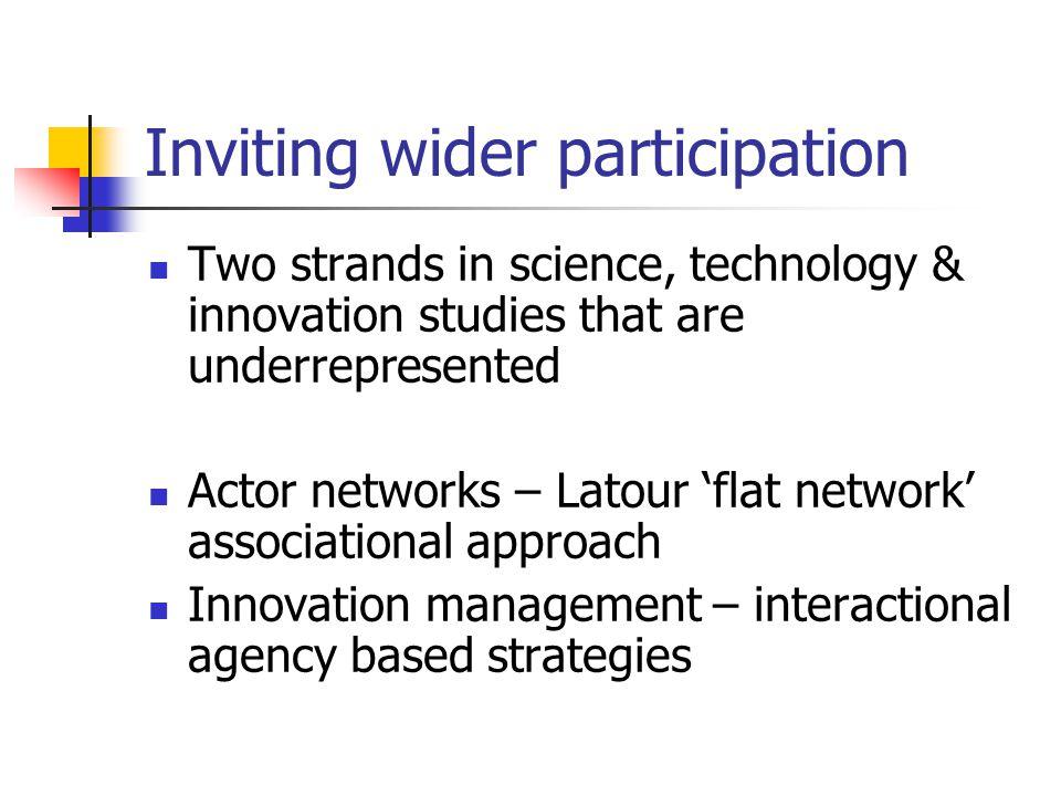 Actor orientation Reflexive action vs system design Heterogeneous engineer, system builder, path creator Innovative entrepreneur, innovation journey