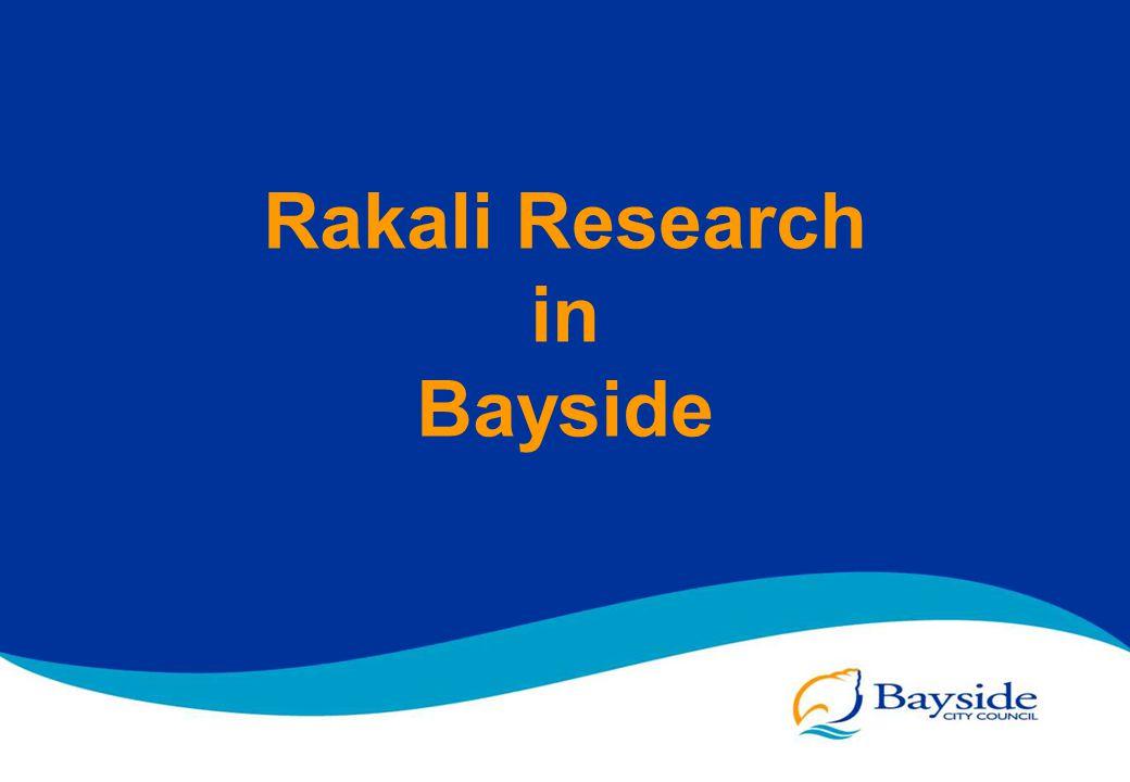 Rakali Research in Bayside