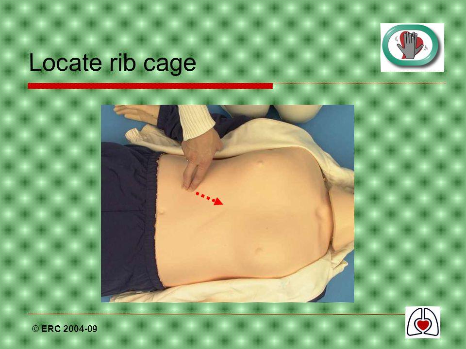 © ERC 2004-09 Locate rib cage