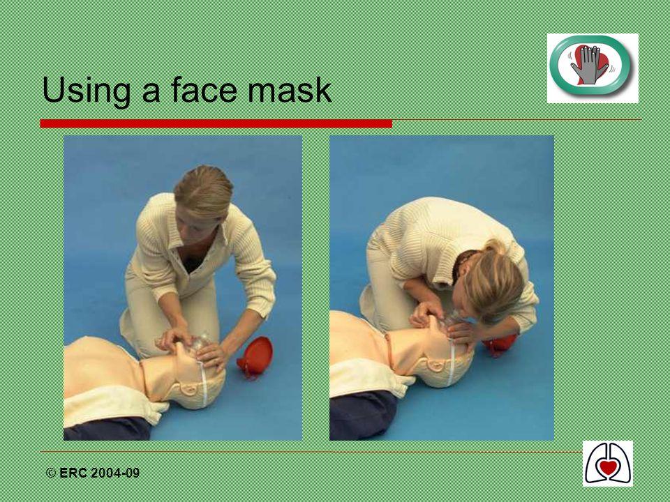 © ERC 2004-09 Using a face mask