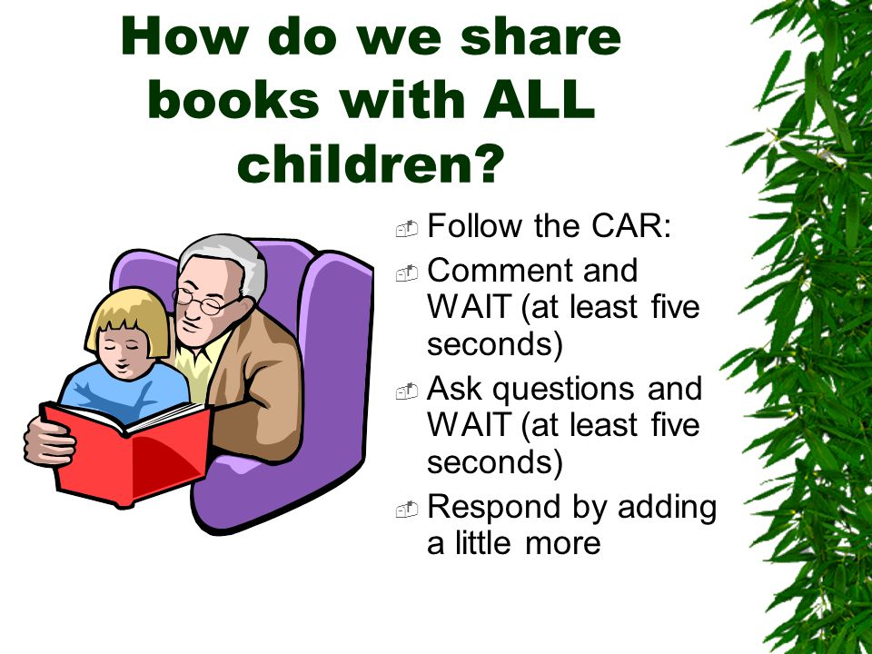 How do we share books with ALL children.