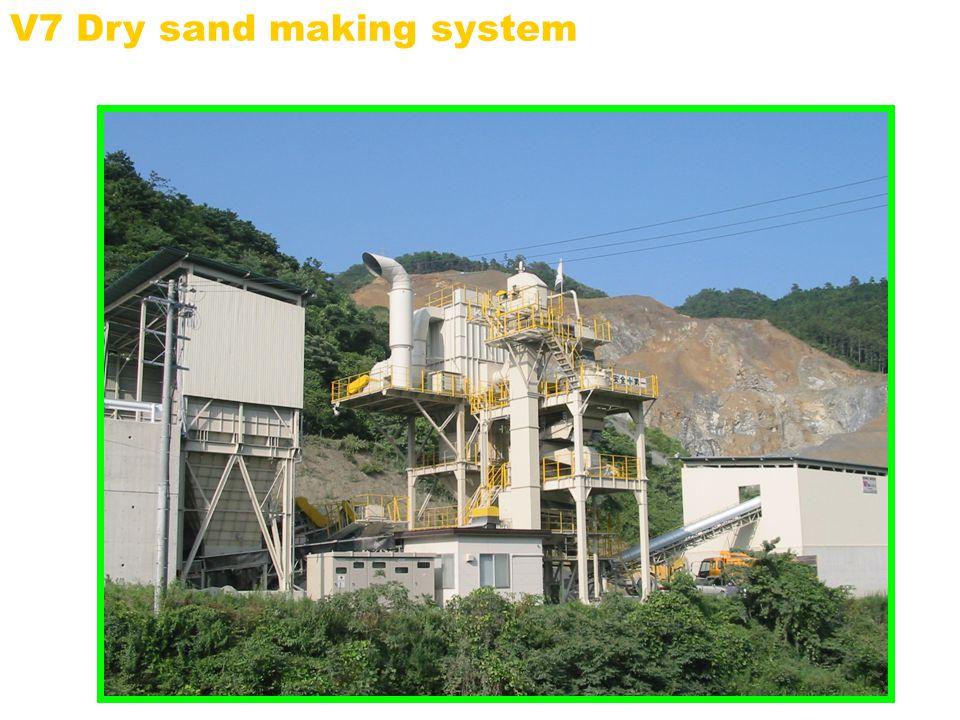 V7 Dry sand making system