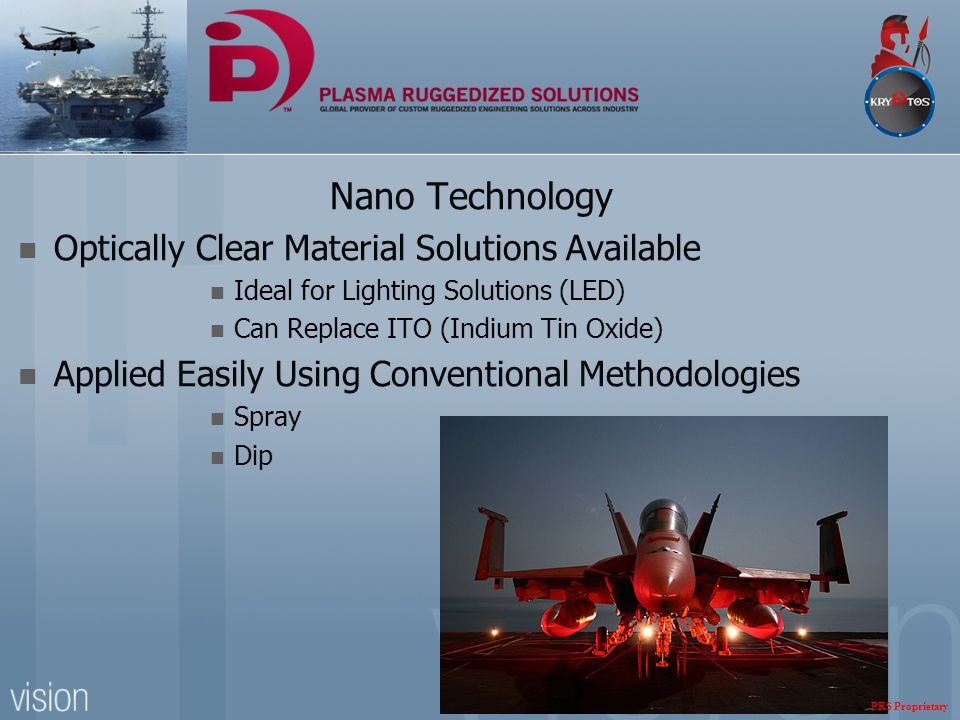 Nano Technology Optically Clear Material Solutions Available Ideal for Lighting Solutions (LED) Can Replace ITO (Indium Tin Oxide) Applied Easily Usin